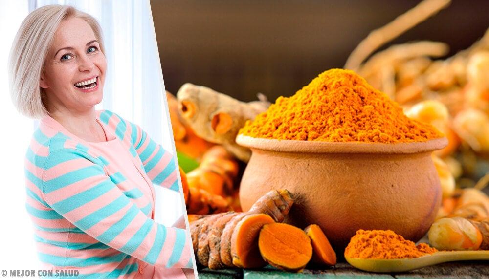 7 beneficios de la cúrcuma en la menopausia y posmenopausia