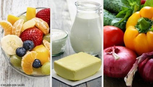 mejores combinaciones de alimentos para adelgazar