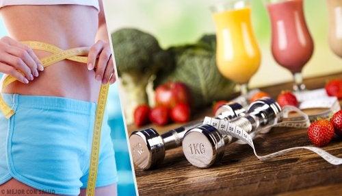 Trucos para bajar de peso sin rebotec