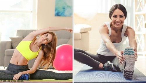 8 ejercicios recomendados para tonificar tu cuerpo en casa