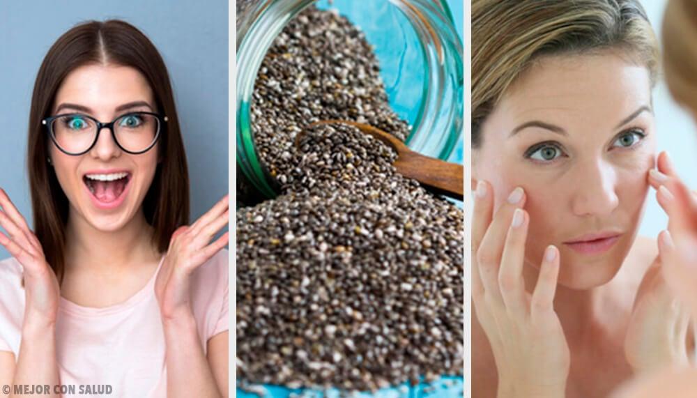 8 sorprendentes beneficios de las semillas de chía