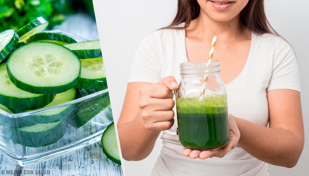 9 beneficios del jugo de pepino