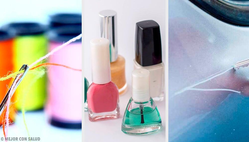 9 usos alternativos del esmalte de uñas - Mejor con Salud
