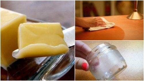 9 usos domésticos de la mantequilla que te gustará conocer