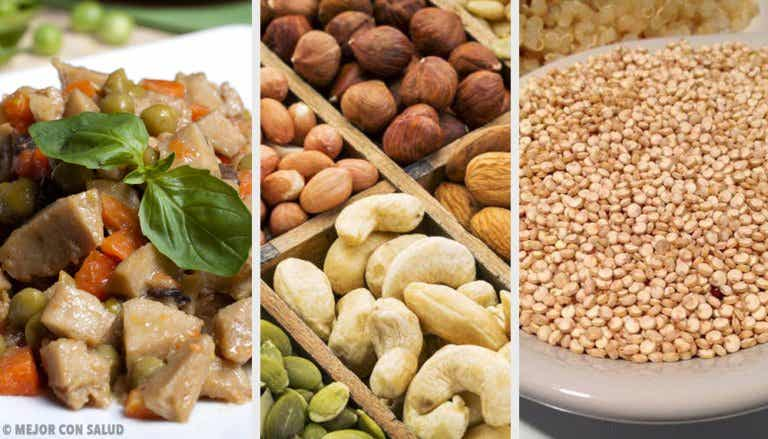 Alternativas para remplazar la proteína animal en tu dieta