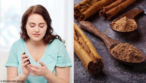 Cómo regular el azúcar en sangre con canela de Ceilán