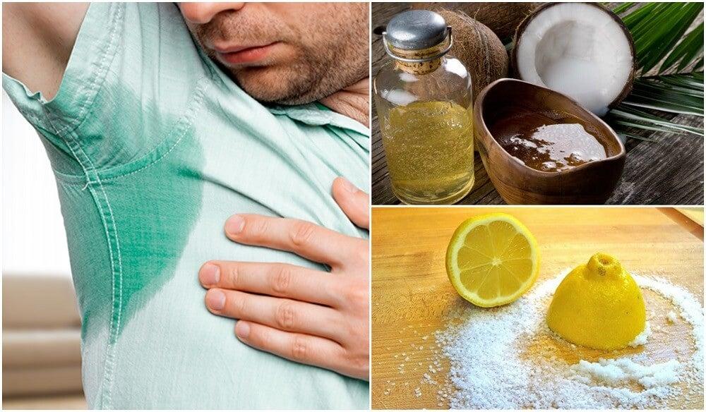 Cómo tratar la sudoración excesiva con 5 remedios naturales