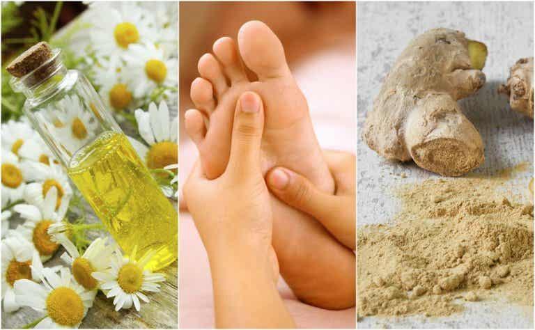 Calma el ardor en los pies con 6 remedios caseros