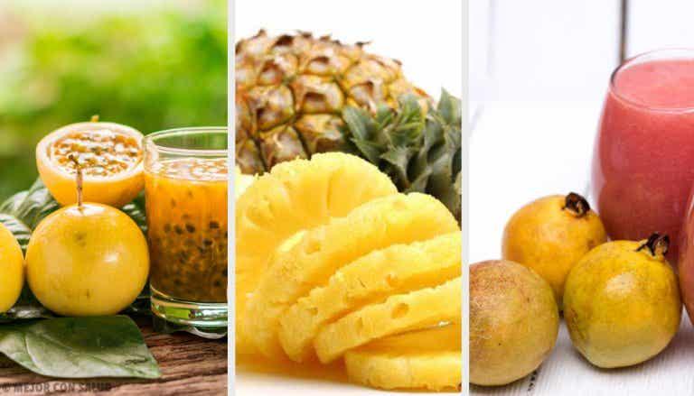 ¿Cuáles son las 10 mejores frutas tropicales para la salud?