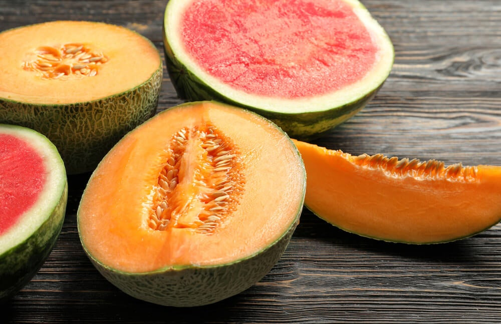 El melón y la sandía