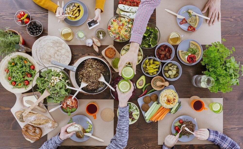 ¿Es posible una cena de celebración saludable?