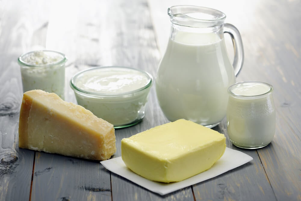 La leche y los derivados lácteos