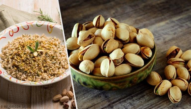 Los increíbles beneficios de comer pistachos cada día