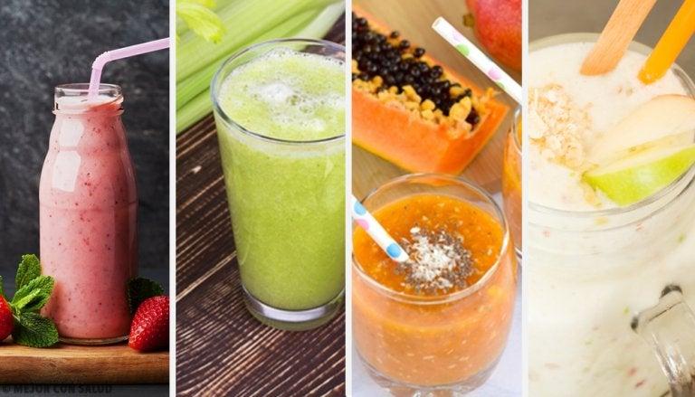 Prueba estos 4 batidos depurativos, deliciosos y saludables