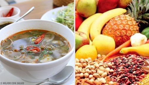 ¿Qué alimentos producen un efecto saciante?