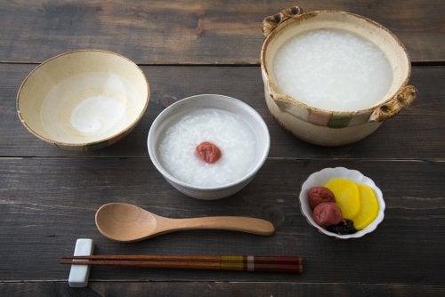 Remedio con kuzu y umeboshi