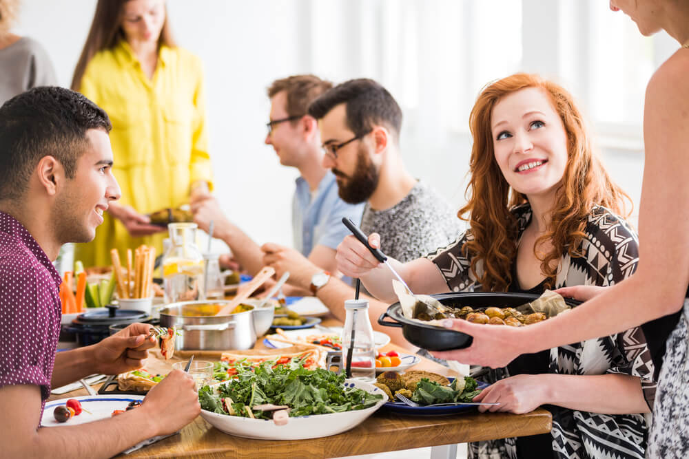 Una opción deliciosa para una cena de celebración saludable