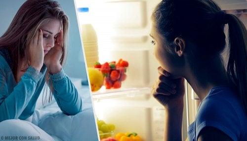 ¿Por qué abusamos de la comida durante la noche?