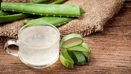 Aloe vera para eliminar la boca seca