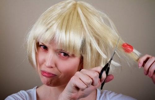 chicle pelo, usos domésticos de la mantequilla