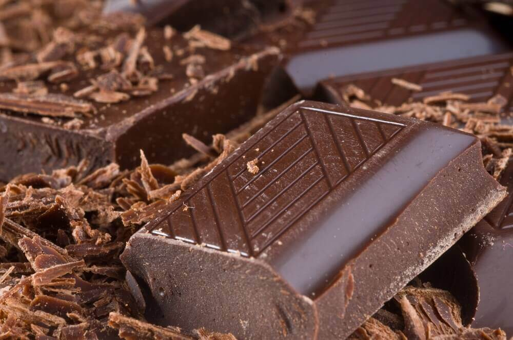 Chocolate amargo para hacer brownies