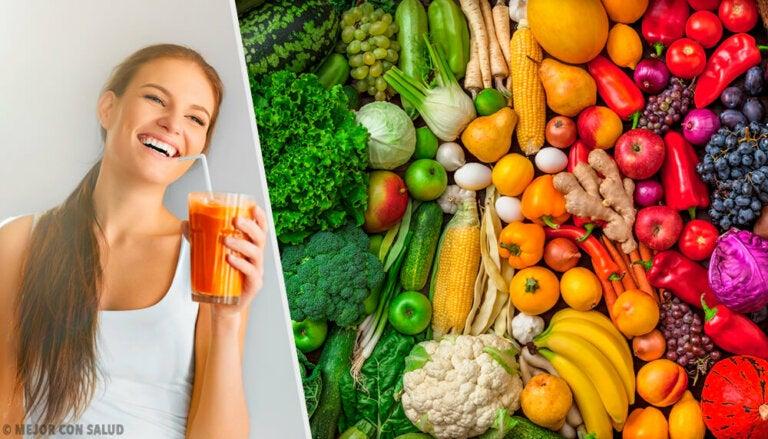 Los colores de los alimentos y su relación con la salud