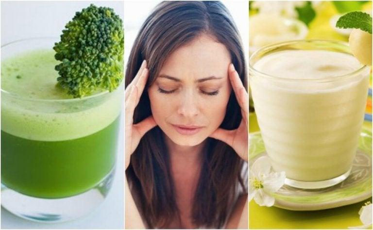 5 deliciosos jugos para combatir el estrés naturalmente