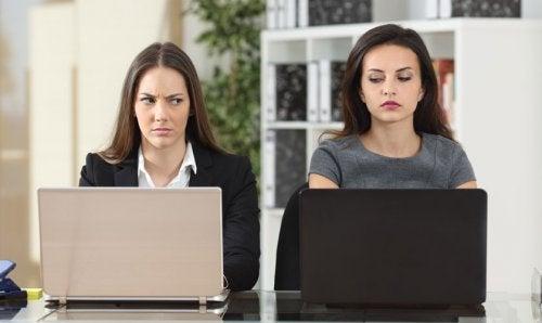 conflicto en el trabajo