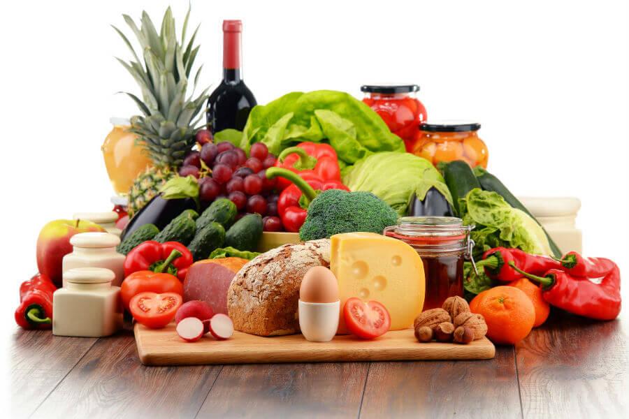 La variedad es clave para llevar una dieta balanceada.