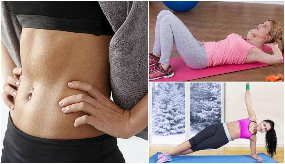 Cómo ejercitar tu zona abdominal con 6 ejercicios básicos
