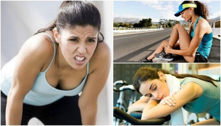 7 señales que te indican que estás haciendo mal tu rutina de ejercicio