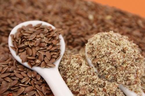 Semillas de lino, una opción para prevenir el estreñimiento