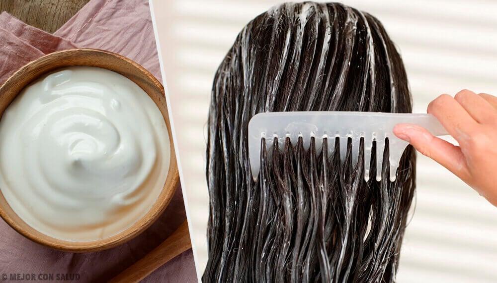 5 mascarillas de mayonesa para embellecer tu cabello