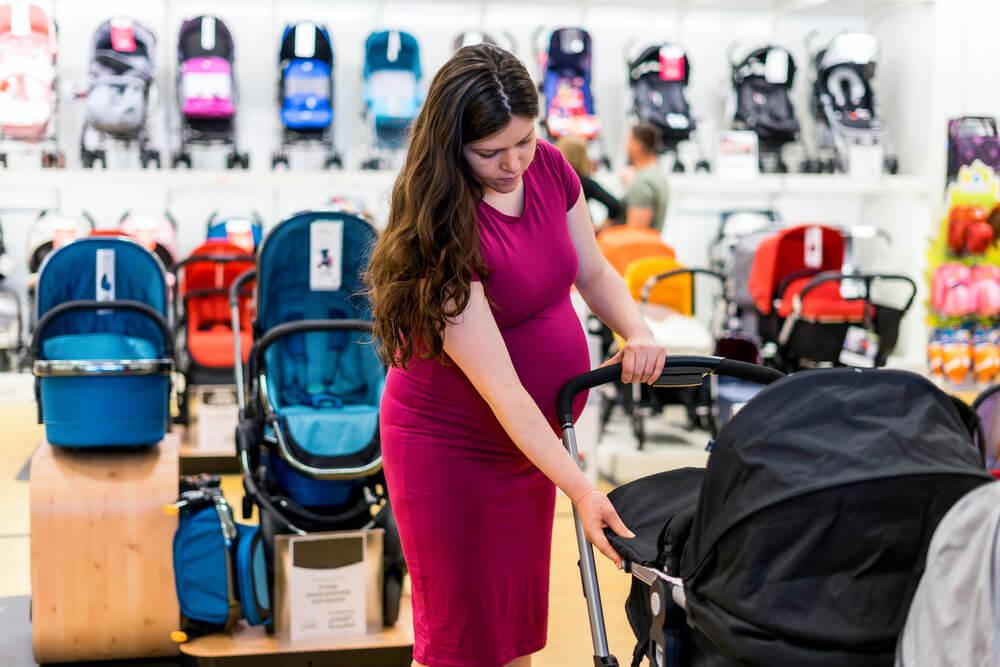 Evitar hacer comprar impulsivas en cochecito para el bebé