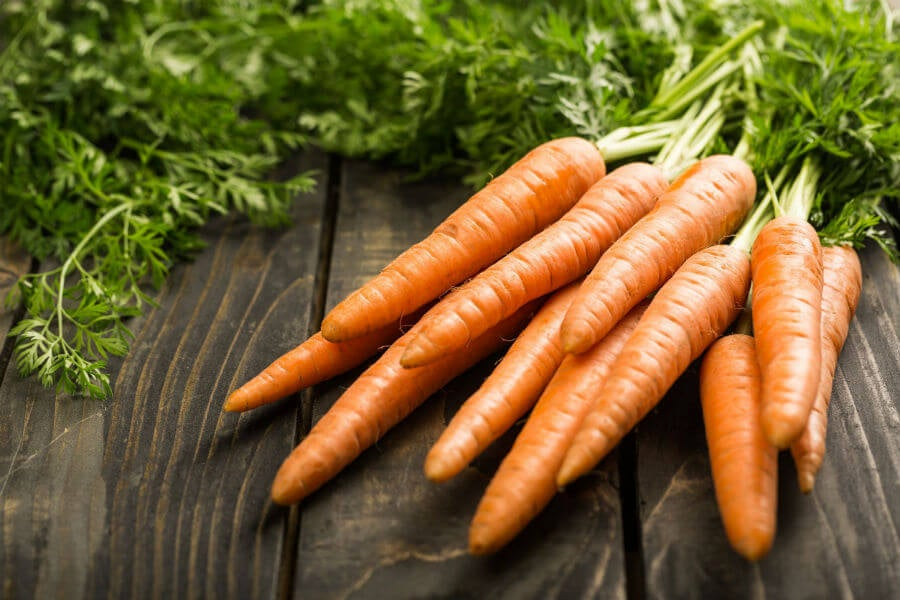 zanahoria-saludable bronceado