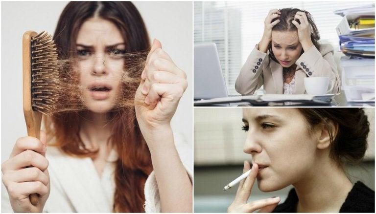 10 motivos por los que se te puede estar cayendo el cabello