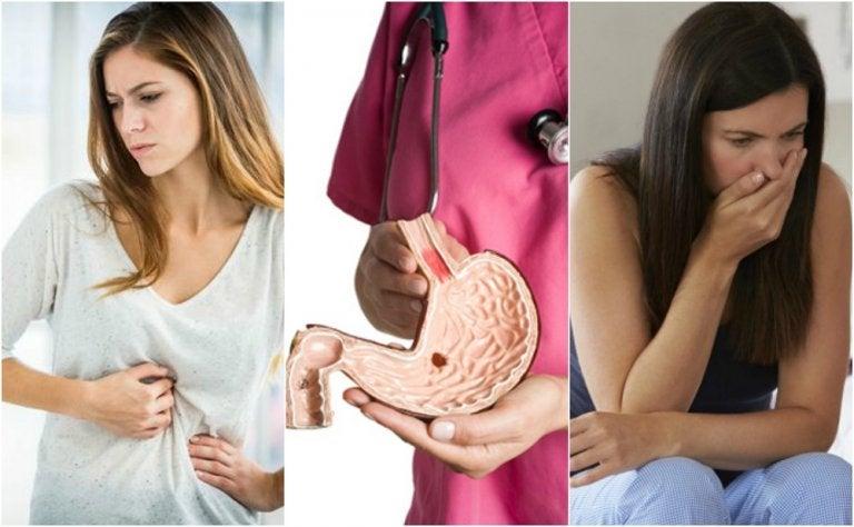 10 síntomas que te alertan de una úlcera péptica