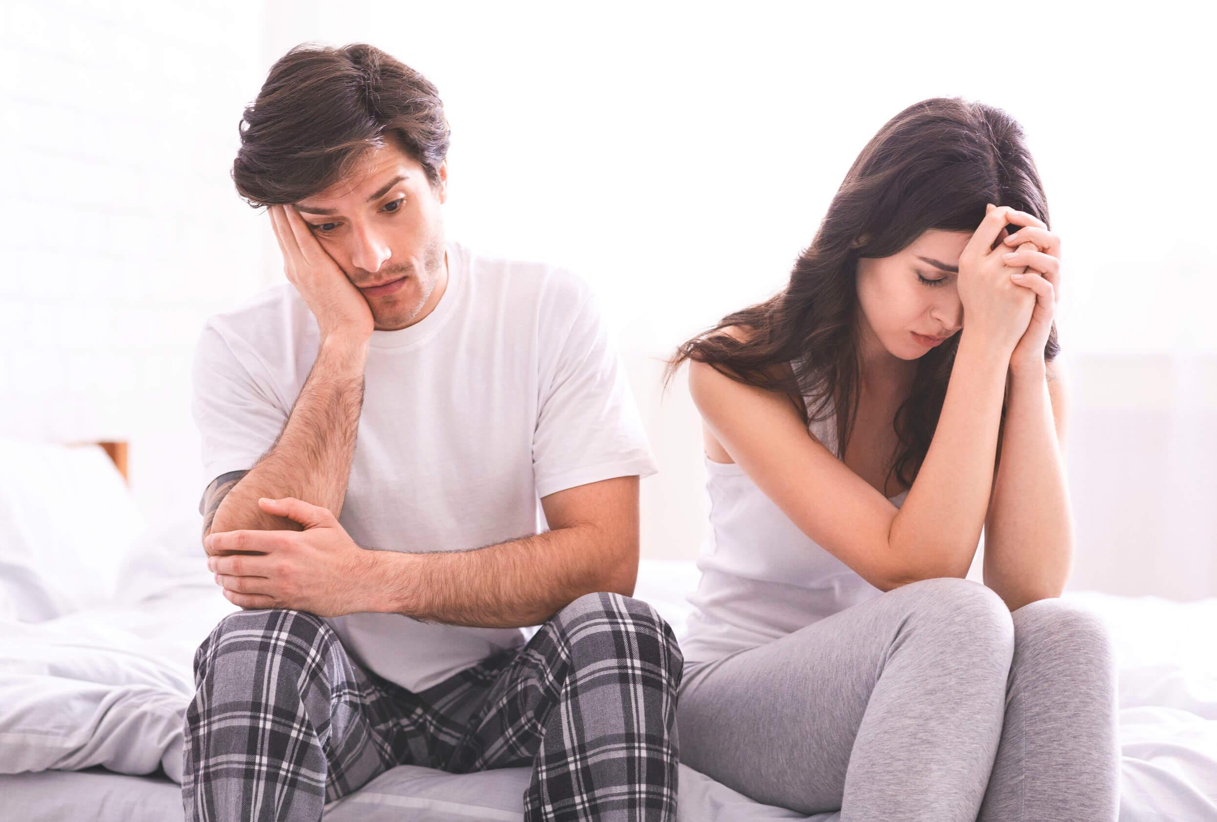 El vaginismo puede llevar a peleas con la pareja.