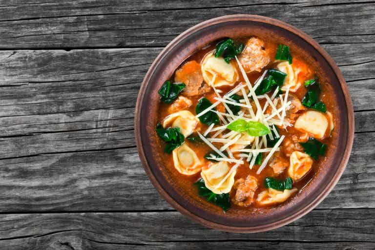 2 recetas de sopa italiana