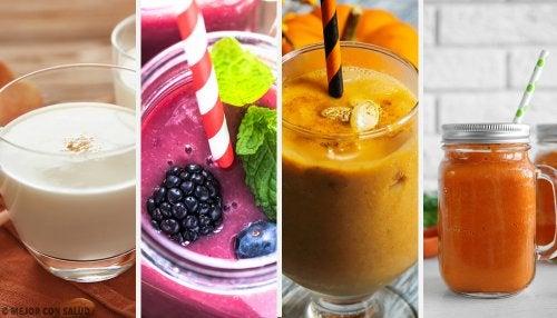 6 batidos con frutos de otoño