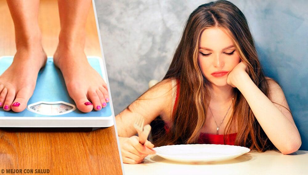 6 formas de perder peso sin sentirte hambrienta todo el tiempo