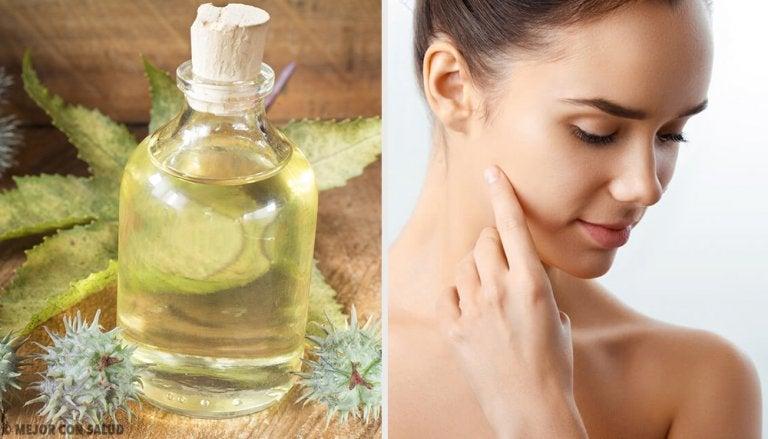 6 formas de usar el aceite de ricino para mejorar la apariencia de tu rostro