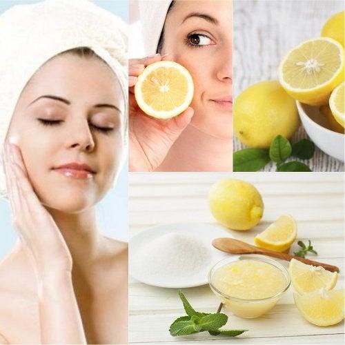 6 formas de utilizar limón para embellecer tu piel