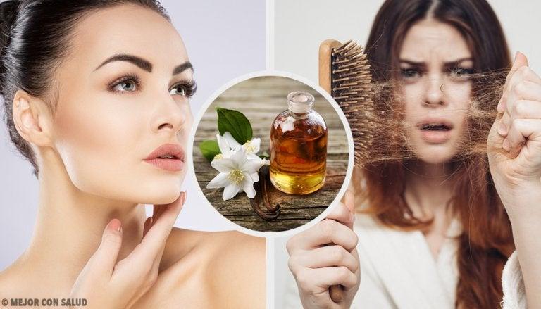 6 usos de la vainilla para mejorar la piel y el cabello