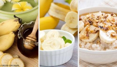 7 tips sencillos, sanos y originales para disfrutar del plátano
