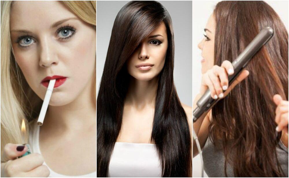 8 malos hábitos que afectan la salud de tu cabello