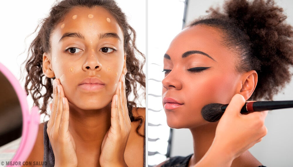 8 tips de maquillaje para chicas de piel oscura.