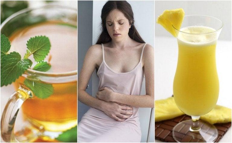 Cómo aliviar el empacho estomacal con 5 remedios caseros
