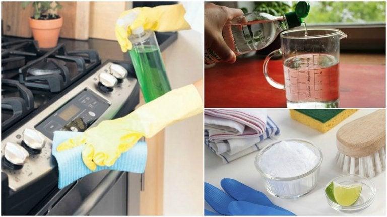 Cómo desengrasar tu estufa con 5 soluciones ecológicas