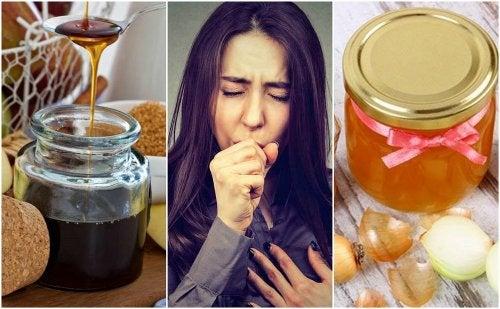 Cómo tratar la tos con jarabes caseros